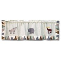 Curtain Valance White Mountain Whispers