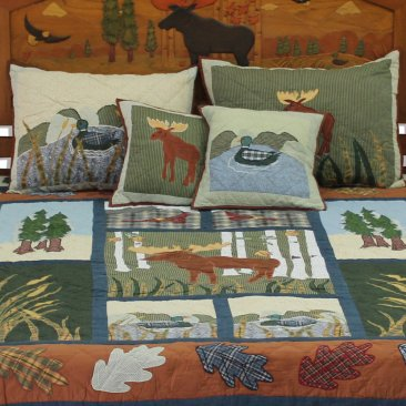 Quilt Set California King Quilted Moose